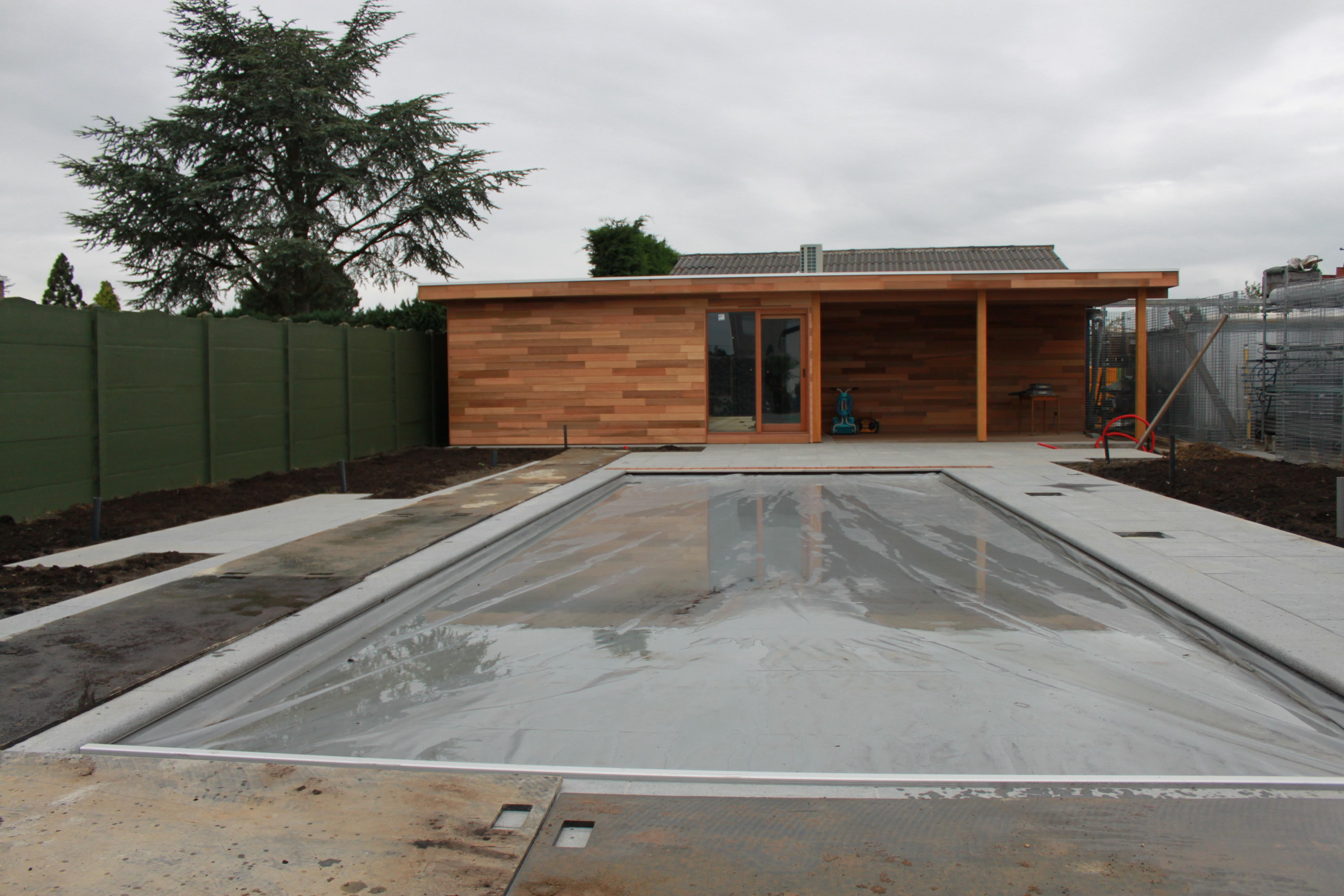 Betonnen zwembaden zwembadbouwer - Ontwikkeling rond het zwembad ...